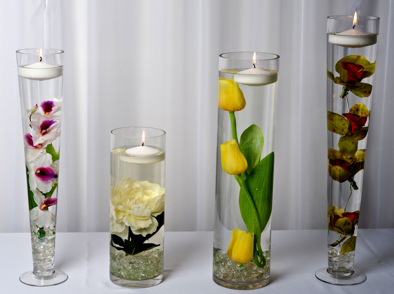 Table Centerpieces and GlasswareClassy Covers