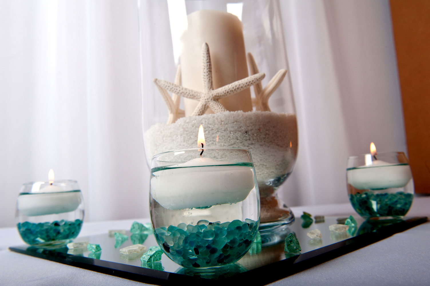 Anchor Nautical Table Decorations Photograph Centerpiece
