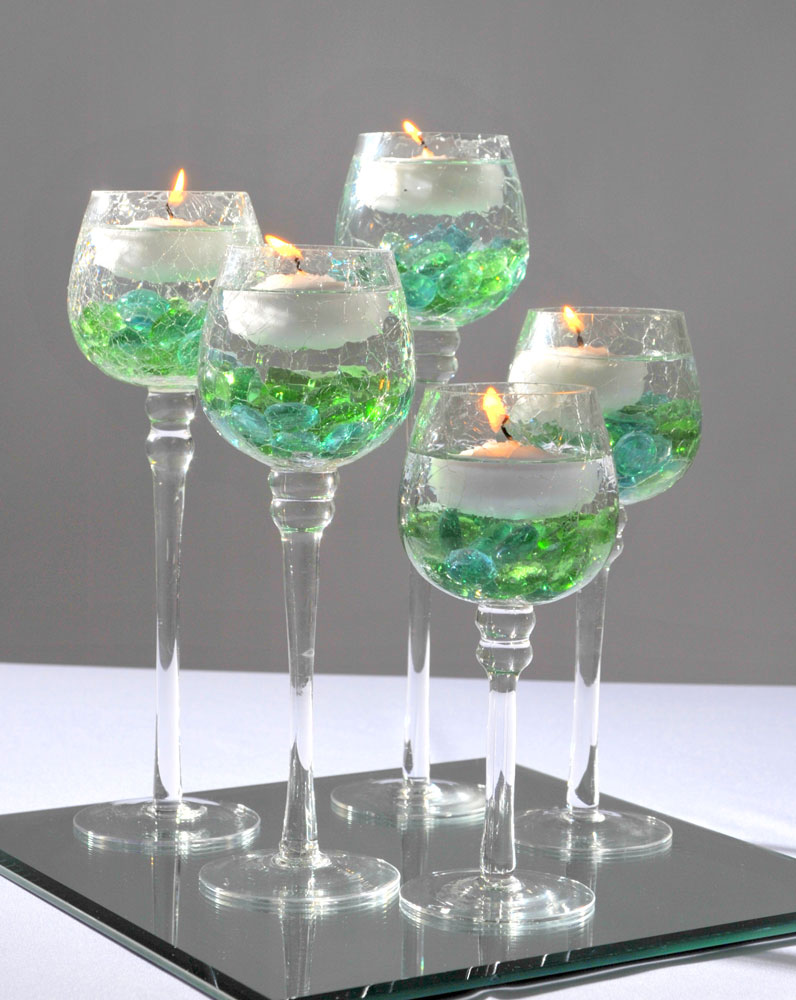 Floating Candle Centerpiece Classy CoversClassy Covers